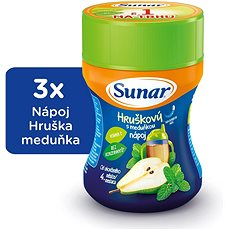 Sunárek instantný nápoj Dobrú noc medovka - 3x 200g - Nápoj