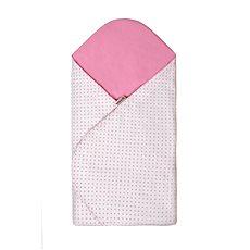 T-tomi Rychlozavinovačka, white/little pink dots - Zavinovačka