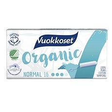 VUOKKOSET Organické tampóny normal 16 ks - Tampóny