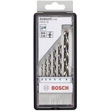 Bosch Pre HSS-G, 6ks - Sada vrtákov do železa