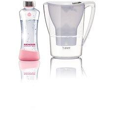BWT filtračná konvica Penguin 2,7 l + sklenená fľaša MyEqua 550 ml - Filtračná kanvica
