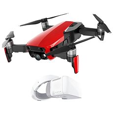 DJI Mavic Air Fly More Combo Flame Red + DJI Goggles - Dron