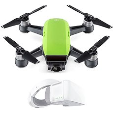 DJI Spark Fly More Combo - Meadow Green + DJI Goggles - Dron