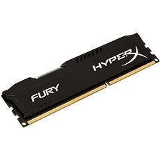 HyperX 4GB DDR3 1600MHz CL10 Fury Black Series - Operačná pamäť