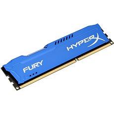HyperX 8 GB DDR3 1600 MHz CL10 Fury Blue Series - Operačná pamäť