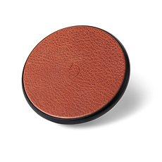 Decoded Leather Qi Wireless Charger brown - Bezdrôtová nabíjačka