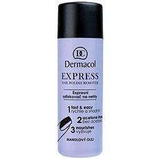 DERMACOL Express Nail Polish Remover120 ml - Odlakovač na nechty