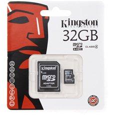 Kingston MicroSDHC 32 GB Class 4 + SD adaptér - Pamäťová karta