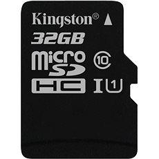 Kingston microSDHC 32 GB UHS-I U1 - Pamäťová karta