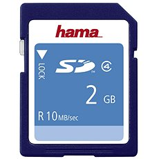 Hama SD 2 GB Class 4 - Pamäťová karta