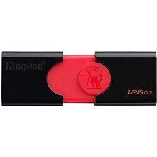 Kingston DataTraveler 106 128 GB čierny - Flash disk