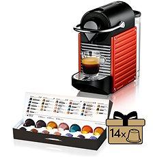 NESPRESSO Krups Pixie Electric Red XN3006 - Kávovar na kapsuly