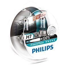 PHILIPS H7 X-tremeVision, 55 W, základňa PX26d, 2 ks - Autožiarovka