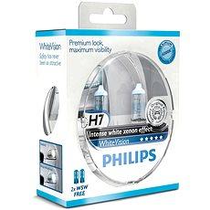 PHILIPS H7 WhiteVision, 55 W, základňa PX26d, 2 ks + zadarmo 2x W5W - Autožiarovka
