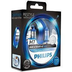 PHILIPS H7 ColorVision Blue, 55 W, pätica PX26d, 2 ks - Autožiarovka