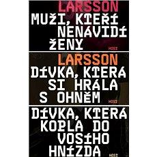 Trilogie Milénium za výhodnou cenu - Elektronická kniha ze série Milénium,  Stieg Larsson