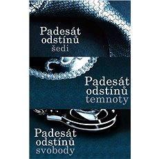 Erotická séria Padesát odstínů za výhodnú cenu - Elektronická kniha –  E L James