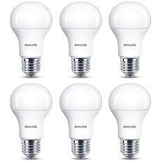 Philips LED 13 – 100 W, E27, 2700 K, matná, súprava 6 ks - LED žiarovka