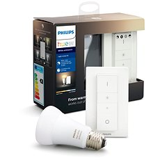Philips Hue White Ambiance 9,5 W + Dimmer Switch Light recipe kit - Ovládač