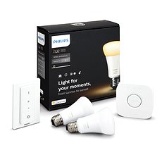 Philips Hue White Ambiance 9,5 W A60 Starter kit - LED žiarovka