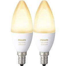 Philips Hue White Ambiance 6 W E14 súprava 2 ks - LED žiarovka