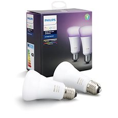 Philips Hue White and Color ambiance 10W E27 set 2ks - LED žiarovka