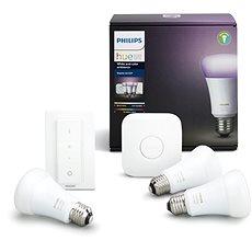 Philips Hue White and Color ambiance 10W E27 starter kit - LED žiarovka