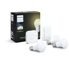Philips Hue White 8,5 W E27 starter kit - LED žiarovka