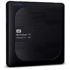 "WD 2,5"" My Passport Wireless Pro 3TB čierny - Dátové úložisko"