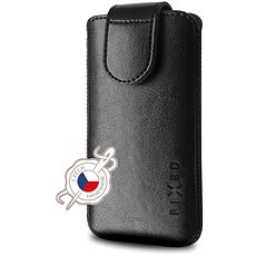 FIXED Sarif 5XL+ čierne - Puzdro na mobil