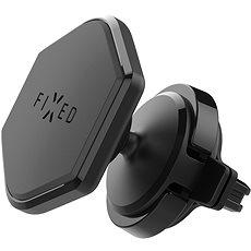 FIXED ICON Vent do ventilácie s kĺbom čierny - Držiak na mobil