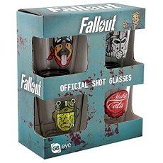 Fallout – kalíšok (4×) - Pohár na studené nápoje