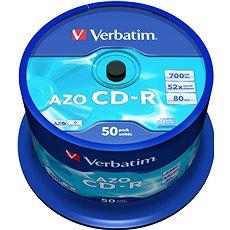 VERBATIM CD-R 80 52× CRYST. spindl 50pck/BAL - Médium