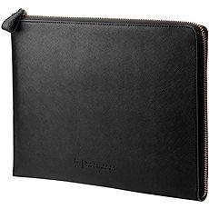 "HP Spectre Black Leather Sleeve (Zipper) 13.3"" - Puzdro na notebook"