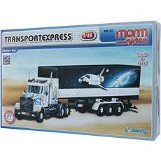 Monti 24 - Transportexpres Western star mierka 1:48 - Stavebnica