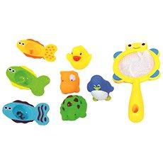 Bino Súprava hračiek do vane so sieťkou - Hračka do vody