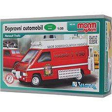 Monti system 45 – Fire Brigade-Renault Trafic 1 : 35 - Stavebnica