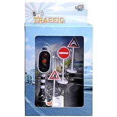 Funkčný semafor a dopravné značky - Herný set