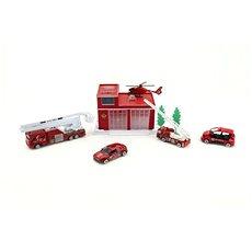 Teddies Súprava hasičská stanica/garáž - Herná súprava