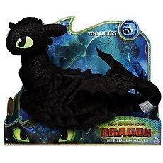 Ako vycvičiť draka 3 Veľký plyšák delux – Bezzubka - Plyšová hračka
