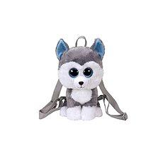Ty Gear backpack Slush – husky 25 cm - Plyšová hračka