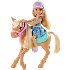 Barbie Chelsea a Poník - Bábika