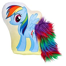 My Little Pony 3D vankúš Rainbow - Dekorácia do detskej izby