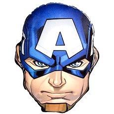 Avengers 3D vankúš Cpt. Amerika - Dekorácia do detskej izby