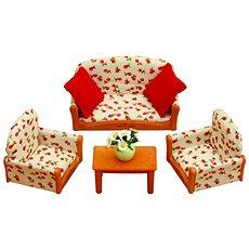 Sylvanian Families Nábytok – sedacia súprava so stolčekom - Herný set