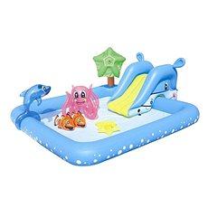 Bestway so šmýkačkou a mnohými doplnkami - Nafukovací bazén