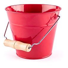Woody Záhradný kýblik – červený - Kýblik