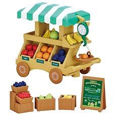 Sylvanian Families Pojazdná predajňa ovocia a zeleniny - Herný set