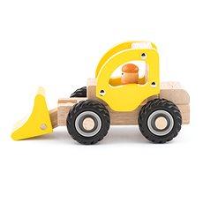Woody Dřevěné autíčko – Bagr - Auto