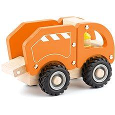 Drevené drevené auto - odpadky - Auto